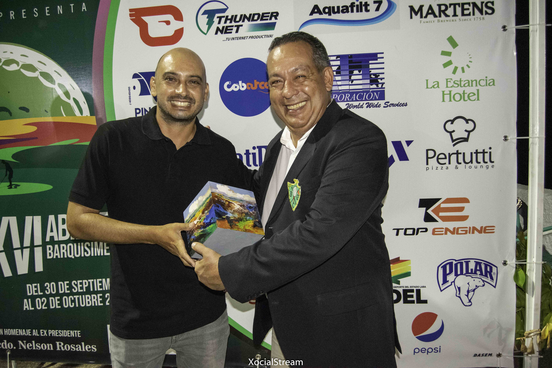 Denis Meneghini campeón de XVI Abierto de Barquisimeto